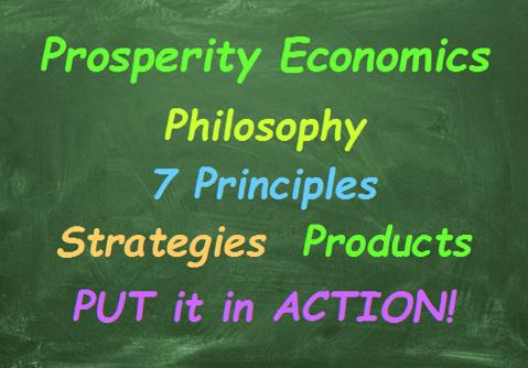 Prosperity Economics Chalkboard