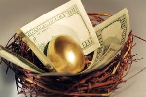 nest egg for retirement
